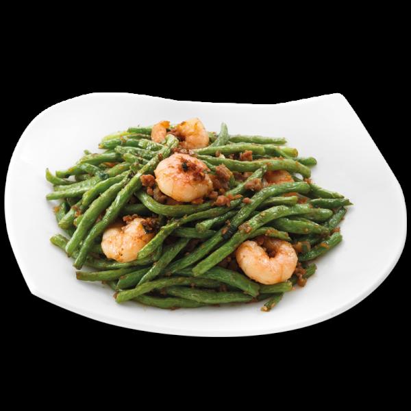 string bean with shrimp